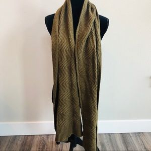 Universal Thread oversized neck scarf wool green
